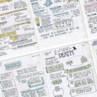 How to take bullet Journal style notes in class to improve grades and studying