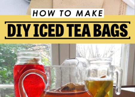 Making your own homemade tea bags is a great way to save money, reduce waste, and control the quality of your tea. Here's how I make XL tea bags for making cold brew iced tea with supplies you probably already have on hand