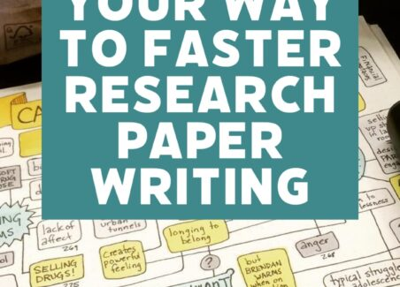 Mind map your way to faster utter research paper writing and better grades