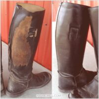 How to redye and recondition worn leather at home