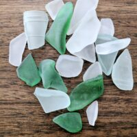 How to make sea glass gems using broken recycled glass