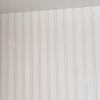The joints of textured wallpaper are easier to hide than the creases in the back board of IKEA furniture.