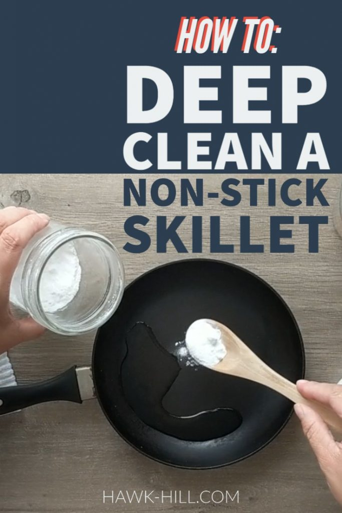 Did you know you can restore the finish on many crusty old nonstick pans with a deep cleaning?