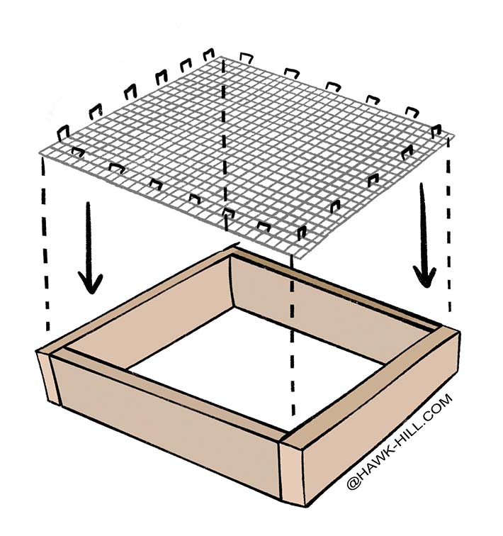 Free woodworking plans for building chicken grazing boxes