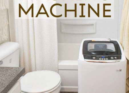 upgrade your apartment or tiny home with a portable washer- here's how!