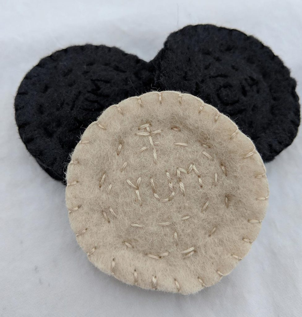 How To Make Oreo-like Chocolate Sandwich Cookie Toys using ...